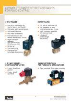 A Complete Range of Solenoid Valves for Fluid Control - 8