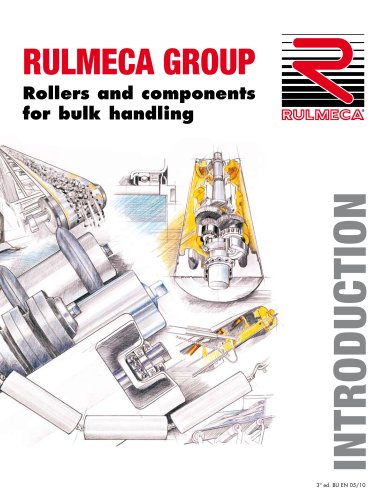 Rulmeca Group introduction to the range