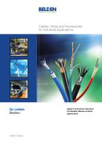 Cables, Wires and Accessories for Industrial Applications