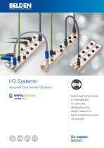 I/O Systems Industrial Connectivity Solutions