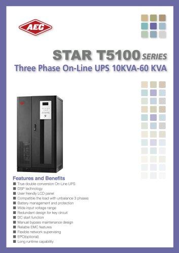 Three Pase On-line UPS