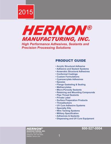 Hernon Precision Adhesive and Sealants Product Catalog