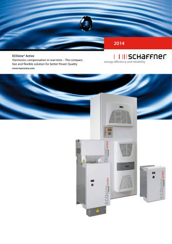 ECOsine® Active Harmonics compensation in real-time ? The compact, fast and flexible solution for better Power Quality