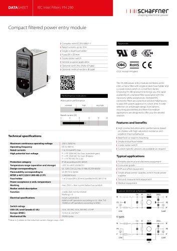 IEC Inlet Filters FN 280