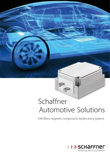 Schaffner Automotive Solutions