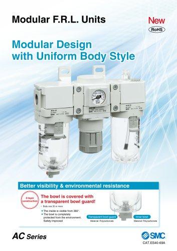 AC Series - Modular F.R.L. Units