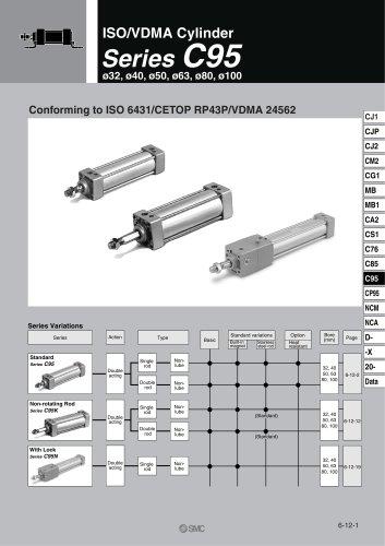 C95 Pneumatic Cylinder