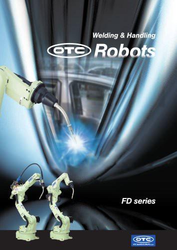 Welding & Handling Robots FD series