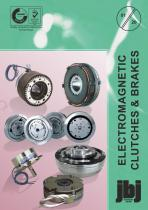 Electromagnetic clutches and brakes available from jbj Techniques Limited