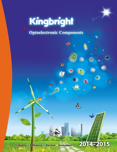 Kingbright catalog 2014 - 2015