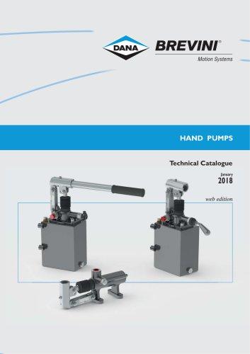 Hand pumps