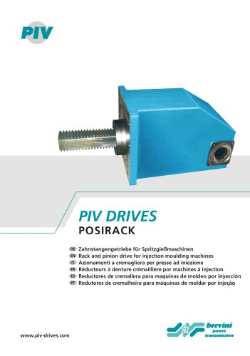 Injection Molding Drives