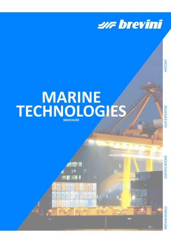 Marine Technologies