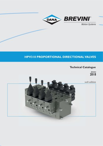 Proportional directional valves HPV310