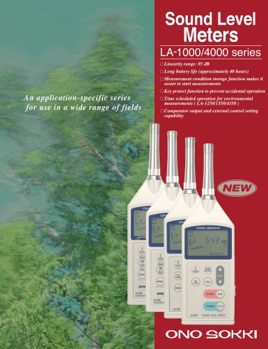 LA-1220 - Sound Level Meter