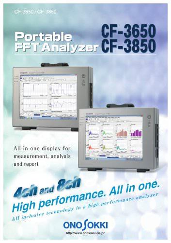 Portable FFT Analyzer