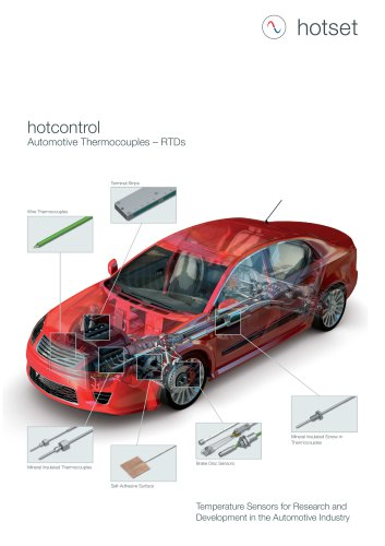 hotcontrol Automotive Thermocouples and RTDs