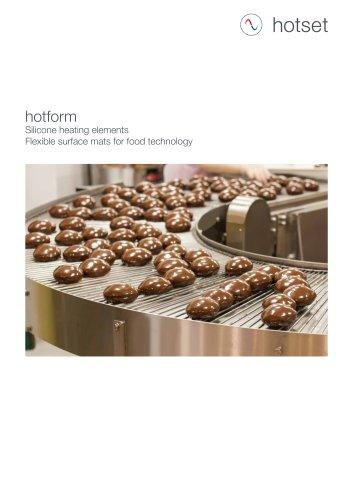hotform Silicone Heating Elements - Food technology