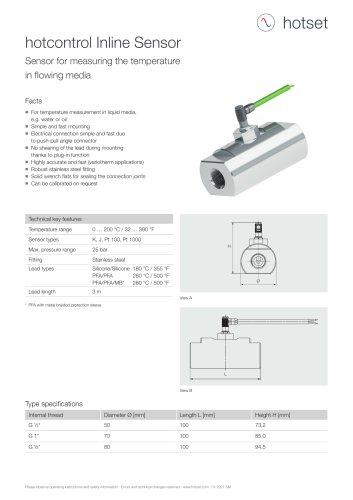 Inline Sensor