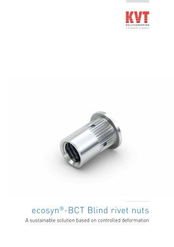 ecosyn-BCT Blind rivet nuts