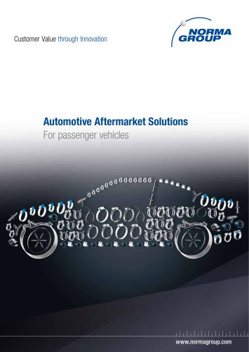 Automotive Aftermarket Solutions - Passenger vehicles