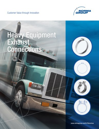 Heavy Equipment Exhaust Connections_USA