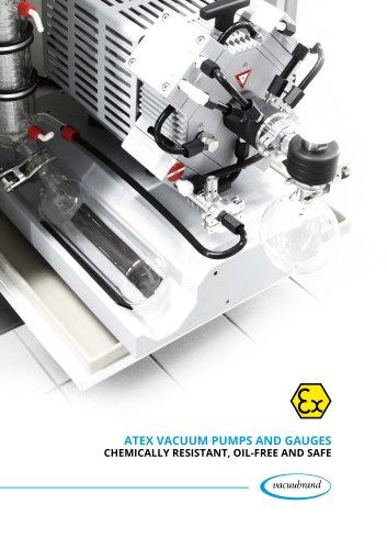 ATEX Vacuum pumps and gauges