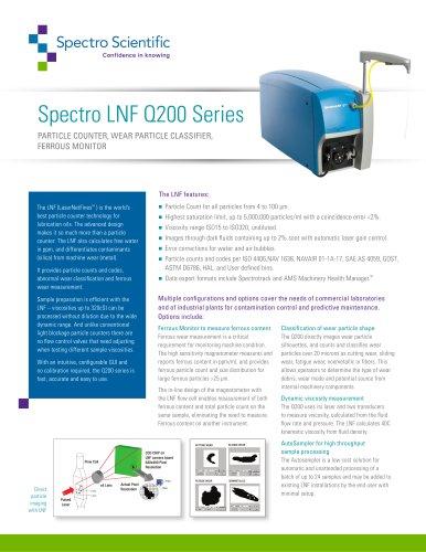 Spectro LNF Q200 Series
