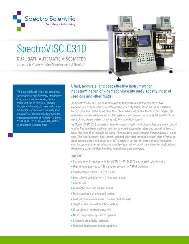 SpectroVISC Q310