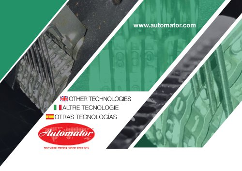 Automator Impact, Presses, Rolling, Hot Foil Marking Machines