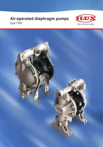 Air-operated diaphragm pumps FDM
