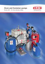Drum and Container pumps Series 400 – for low-viscosity media