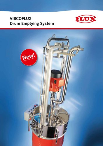 Drum emptying system VISCOFLUX