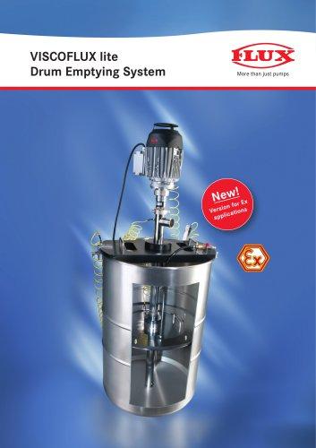 Drum emptying system VISCOFLUX lite