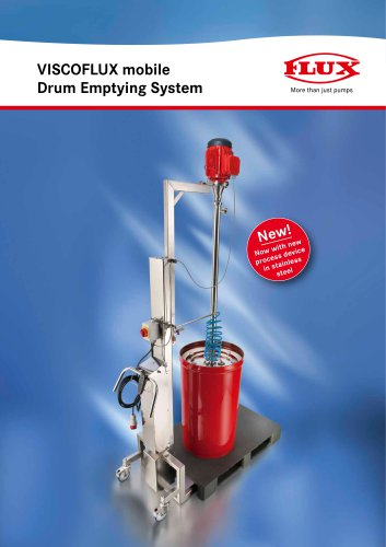 Drum emptying system VISCOLFUX mobile