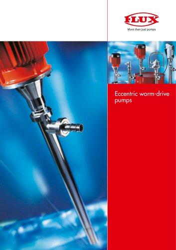 FLUX Eccentric worm-drive pump F 550 GS