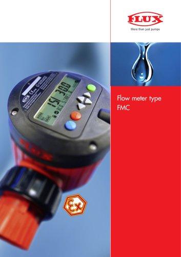 FLUX Flow meter FMC 100