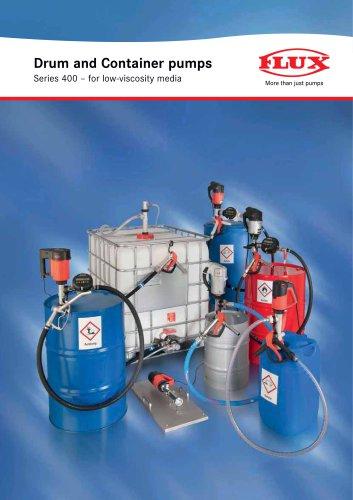 FLUX Pump kit for alkalis series 400