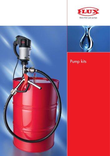 FLUX Pump kit for petroleum products