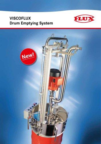 VISCOFLUX Drum Emptying System