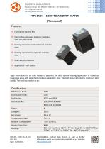 TYPE SADH – SOLID TO AIR DUCT HEATER