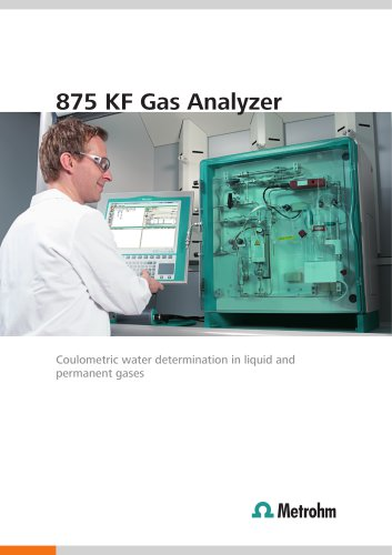 875 KF Gas Analyzer