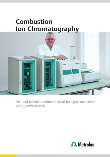 Combustion Ion Chromatography