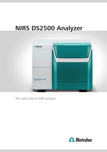 NIRS DS2500 Analyzer