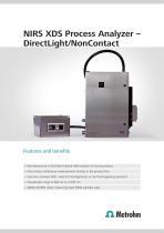 NIRS XDS Process Analyzer - DirectLight/NonContact