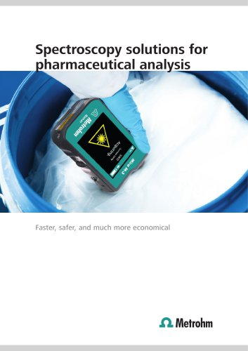 Spectroscopy solutions for pharmaceutical analysis