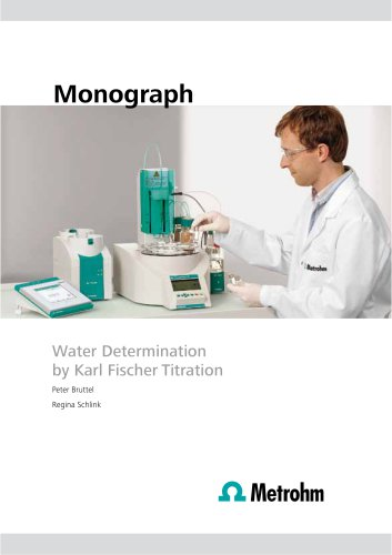 Water determination by Karl Fischer Titration (Monograph)