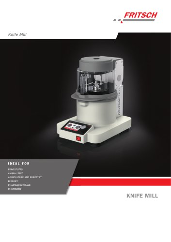 Knife Mill PULVERISETTE 11