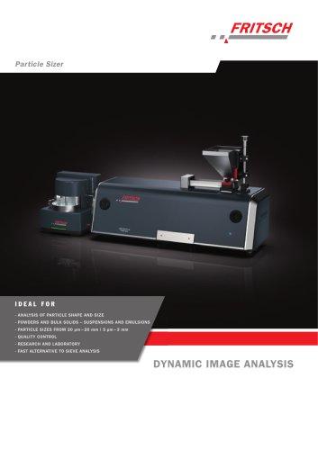 Particle Sizer ANALYSETTE 28 ImageSizer