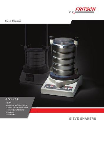 Sieve Shakers  ANALYSETTE 3 Pro / ANALYSETTE 3 Spartan / ANALYSETTE 18